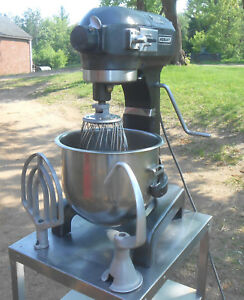 Hobart A200 20 Qt Commercial Stand Mixer 1 3hp 2 Bowls Paddle Dough Hook Whisk