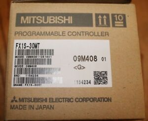 Mitsubishi Melsec Fx1s 30mt Programmable Controller brand New In Original Box