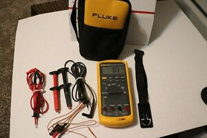 Fluke 87v Industrial Electrician Digital Multimeter Cementex Electrician Tools