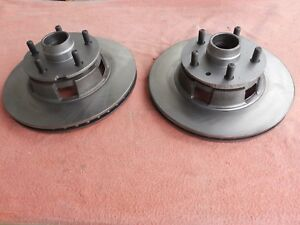 65 66 67 shelby mustang one Pair 2 Peice Front Disc Brake Rotors kelsey Hayes