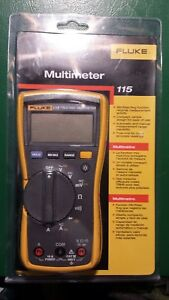 Fluke 115 Compact True Rms Digital Multimeter Nos