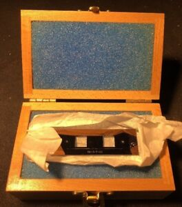 Applied Micro Stage Micrometer Sm 3 p cg Calibration Slide Series Sm 3 0134