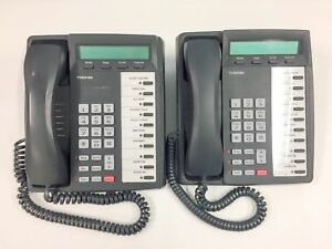 Lot Of 2 Toshiba Dkt3020 sd Digital Business Phone