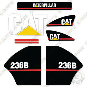 Caterpillar 236b Decal Kit Equipment Decals Older Style 2003