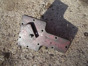 Farmall 300 Rc Tractor Ihc Transmission Bottom Ta Lockout Lock Out Cover Panel