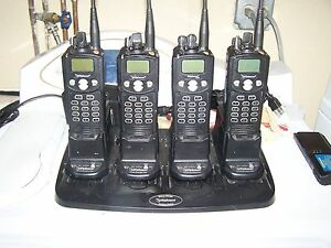 Ef Johnson Uhf P25 Ht s W desk Charger with Extras 2