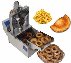 New Electrical 3 In 1 Donut Fryer Machine 120 Pcs h 220v Commercial Or Home Use