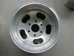Vintage Western Aluminum Slotted Mag Wheel 15 8 5 Ansen Us Style Gasser 6 On 5