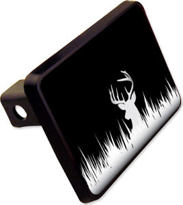 Deer Silhouette Hunting Hitch Cover Plug Funny Novelty