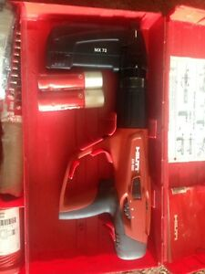 Hilti Dx 460 Mx 72 Powder Actuated Nail Gun With Case