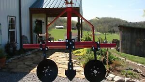 New Garden Bedder Potato Plow Hiller W 12 Disc W Furrow Plow Point Made In Usa
