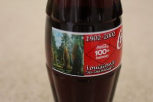 Coca Cola 100th Anniversary Louisiana Bottling 8oz Bottle NEW Unopened