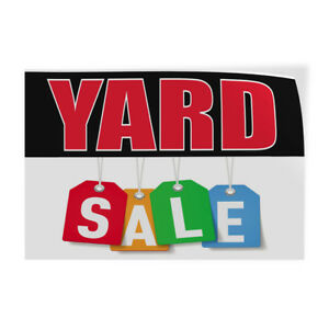 Yard Sale 2 Indoor Store Sign Vinyl Decal Sticker