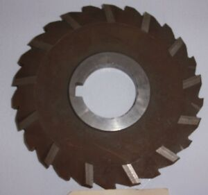 1 Piece Horizontal Milling Cutter Angle Tooth 6 X 3 8 With 1 3 4 Arbor Usa