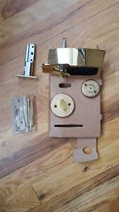 Kaba Simplex 7100 Series Gold Mechanical Pushbutton Auxiliary Lock New