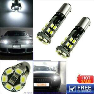 Bax9s H6w 22smd Led Sidelights Bulbs Canbus For Bmw Audi Mercedes Parking Light