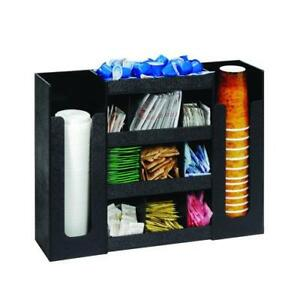 Dispense rite Dlco 5bt Six Section Cup Lid And Condiment Organizer