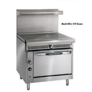 Imperial Ihr 1ft Diamond Series 36 French Top W Standard Oven