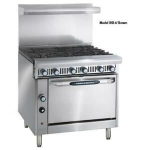 Imperial Ihr 6 c Diamond Series 36 Range W 6 Burners Convection Oven