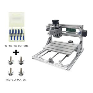 Diy Cnc Router Kits 2418 Grbl Control Wood Carving Milling Engraving Machine