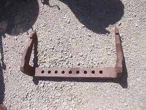 Farmall 450 560 504 544 706 806 Tractor Fasthitch 2pt Thick Drawbar Ih Draw Bar