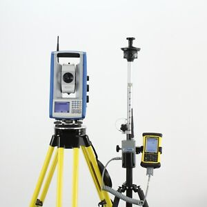 Trimble Spectra Precision Focus 30 3 Robotic Total Station Nomad Survey Pro