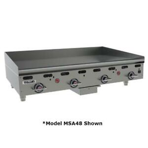 Vulcan Msa24 24 In Countertop Gas Griddle