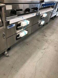 Norlake Nlcb84 Advantedge Commercial Four Drawer Refrigerated Chef Base