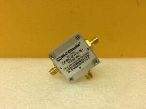 Mini circuits Zfsc 2 11 s 10 To 2000 Mhz Sma f Power Splitter Tested