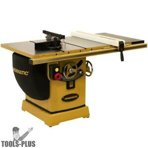 Powermatic Pm23150wk Pm2000b 50 230v Rip Table Saw 3hp 1ph With Workbench New