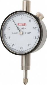 22 298 4 Spi Deluxe Dial Indicator 0 250 Range 0 0005 Graduation Agd Group 1