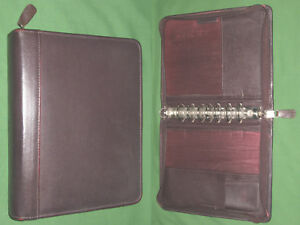 Classic 1 5 Brown Top Grain Leather Franklin Covey Quest Planner Binder 4254
