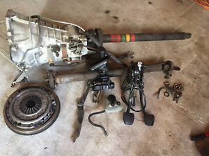 1987 Mercedes 717 430 W124 300e Manual Transmission 5 Speed Swap Kit 133k