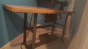 Cornely a Embroidery Machine With Working Motor And Table