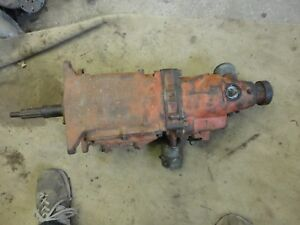 1966 1967 1968 Chevrolet 3 Speed Overdrive Saginaw Transmission Needs Rebuilt