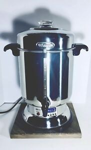 Delonghi Ultimate 20 60 Cup Coffee Maker Stainless Steel Commercial Coffee Urn