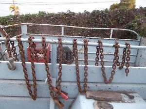 Log Chain 3 8 X 25 2 Length Great For Auto truck Towing Many Other Uses