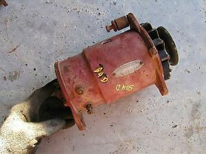 Farmall 504 544 560 460 Diesel D Ih Tractor Ihc Generator With Pulley