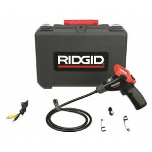 Ridgid 40043 Video Borescope Hand held Digital Inspection Camera Kit
