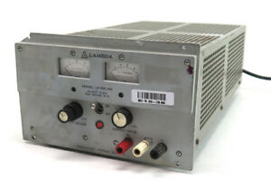 Lambda Lp 531fm Single Output Regulated Power Supply 0 20v 5 7 Amp