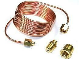 New 72 Autometer Replacement 1 8 Diameter Copper Tubing Kit 6 039 For Oil Gau
