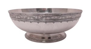 Tiffany Co Sterling Silver Centerpiece Bowl