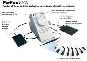 Dental Electrosurgery System Perfect Tcs Ii Swiss Coltene High Frequency Origina