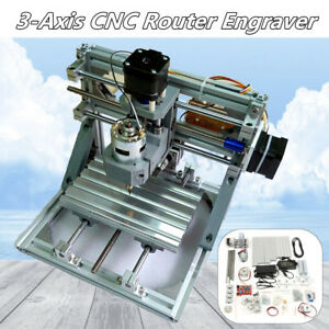 Mini 3 Axis Laser Cnc 1610 Engraving Machine Pcb Milling Wood Carving Router