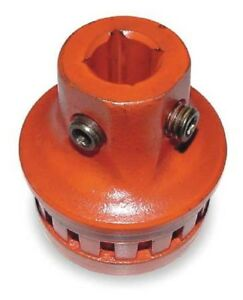 Ridgid 42620 Square Drive Adapter converts 700 Power Drive Pipe Threader 15 16in
