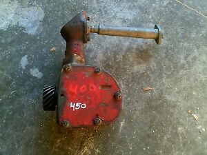 Farmall 400 450 Tractor Original Ih Engine Motor Governor Assembly