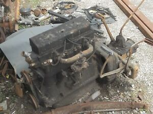 1928 Chevrolet 4 Cyl Engine And 3 Speed Transmission