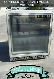 Continental Undercounter Freezer