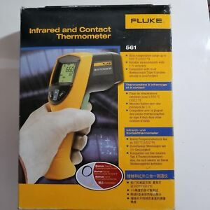 Fluke 561 Infrared Hvac Contact Thermometer New