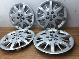 1998 2005 Vw Beetle Wheel Covers Hub Caps Plastic Rims Volkswagen 15 Inch